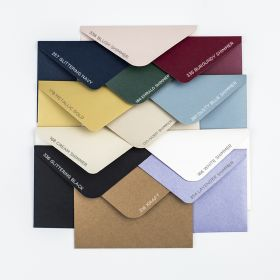 Customize 250GSM colorful envelopes for invitations SWES002